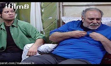 سکانس خنده دار علی صادقی - سریال سه در چهار
