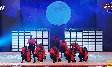 اجرای دختران نینجا فینال برنامه عصر جدید