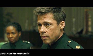 سکانسی از فیلم Ad Astra با نقش آفرینی برد پیت