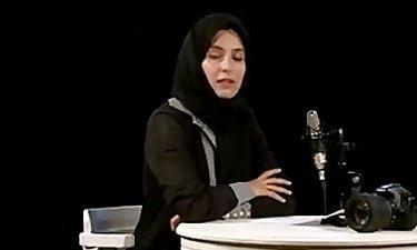 متن خوانی آناهیتا افشار و قاب عکس با صدای مانی رهنما