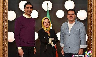 حسین رفیعی مهمان برنامه چهل تیکه