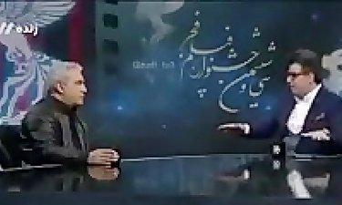 رشیدپور به مهران مدیری: چرا فقط از دولت انتقاد می کنی؟
