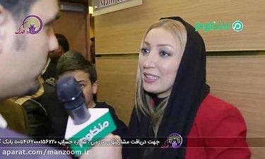 نگار عابدی: فکرشم نمی کردم نامزد بشم/ اختتامیه فجر36