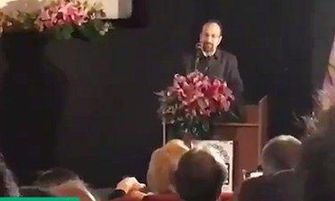 اولین صحبت های اصغر فرهادی بعد از مراسم اسکار