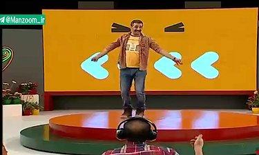 رقصیدن جالب محمد نادری در «خندوانه»