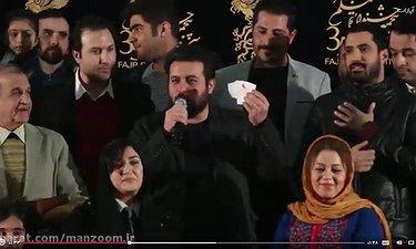 مصاحبه اختصاصی با محسن کیایی در فرش قرمز «سد معبر»