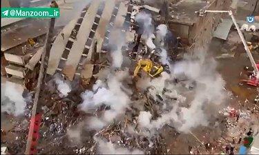 نماهنگ چاووشی درباره جریان ساختمان پلاسکو در «خندوانه»