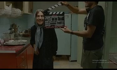 پشت صحنه ای شاد و دیدنی از فیلم «آباجان»